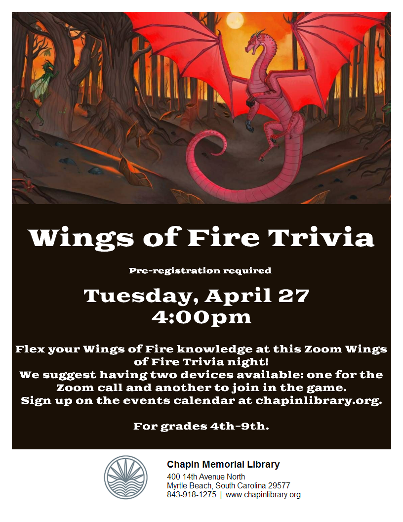 Virtual Zoom - Wings of Fire Trivia