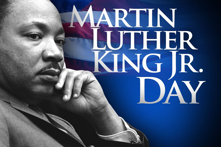 Closed: Martin Luther King Day
