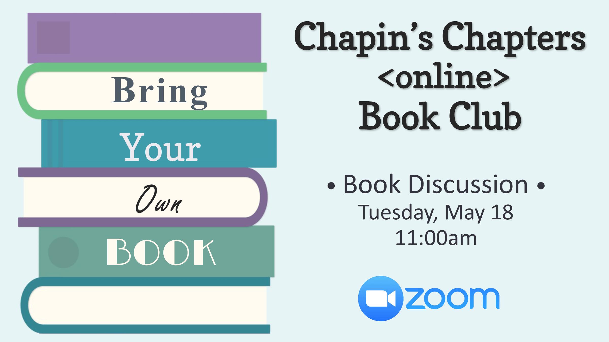 Chapin Chapters BYOB
