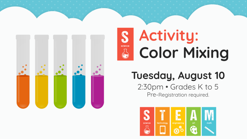 STEAM Color Mixing