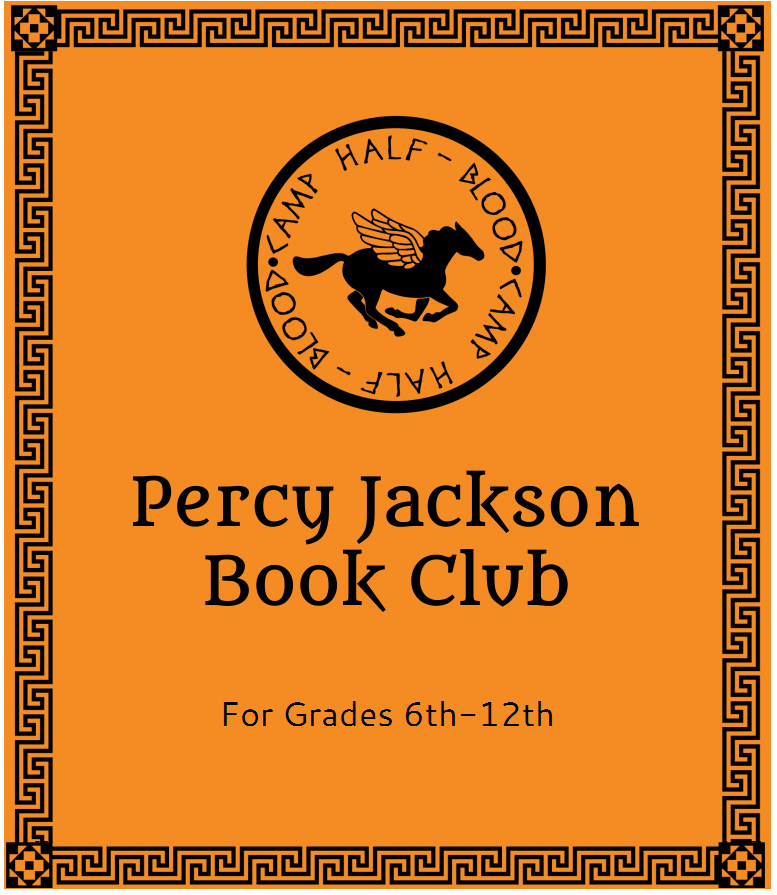 Teen Percy Jackson Book Club (In-Person)