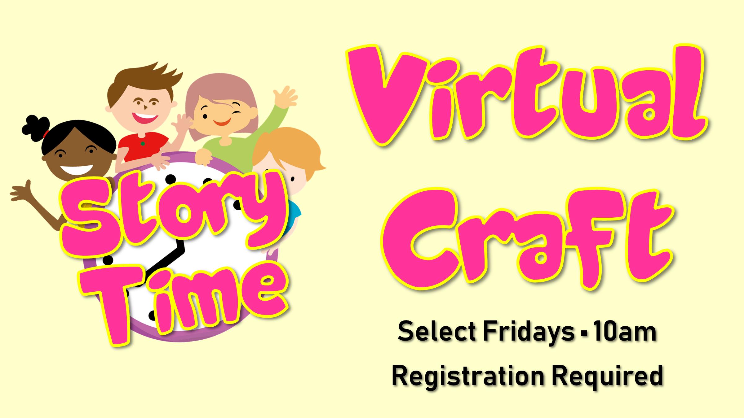 ZOOM - Storytime Virtual Craft